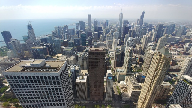 View from Chicago 360 John Hancock Building