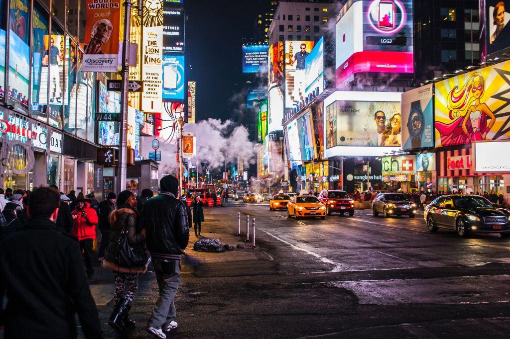 Broadway Times Square Gotta go
